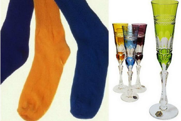 Планируя переезд, складывайте хрупкие стаканы и бокалы в носки, чтобы защитить их от возможных повреждений.