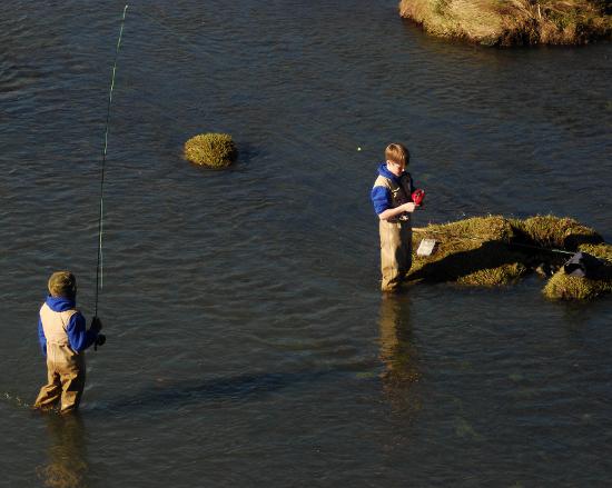 Первый опыт таежных рыбалок