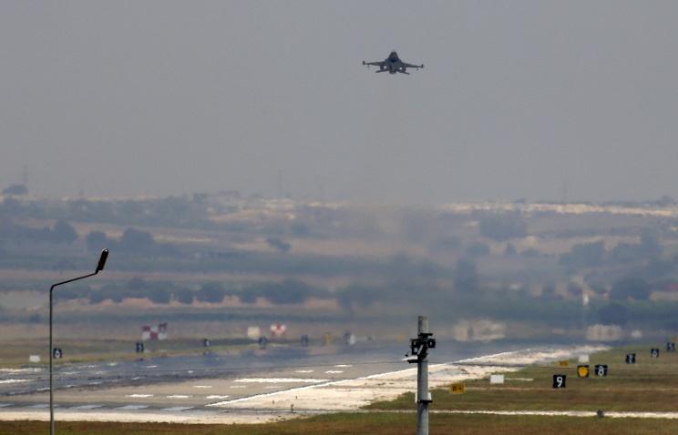 Турецкий F-16 сбил СУ-24 ВКС России
