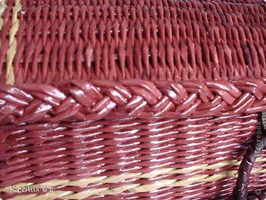 """Мастер-класс Плетение: Сундук на колесах в стиле """"минимализм"""" Бумага газетная Отдых. Фото 28"""