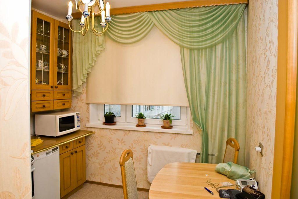 9 советов по выбору штор на кухню