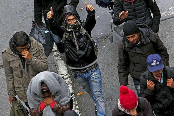 Немецкая разведка вербует беженцев