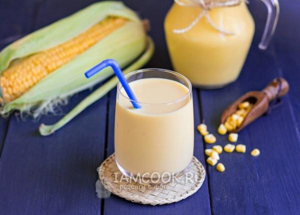 Безалкогольные напитки. Кукурузное молоко