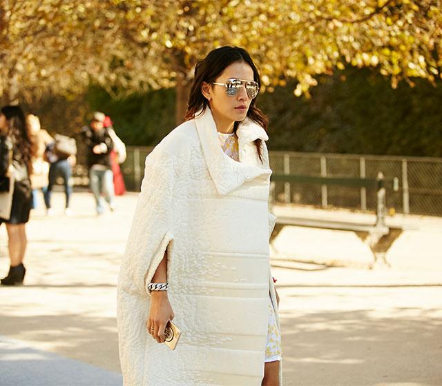 Неделя моды в Париже, весна-лето 2016: street style. Часть 1 (фото 13)