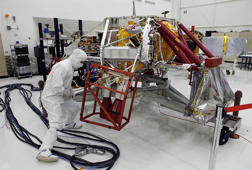 13158 Марсоход Curiosity отправился в полет