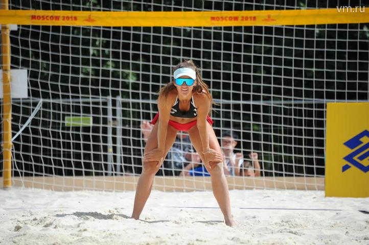Мировой тур по пляжному волейболу в Парке Горького