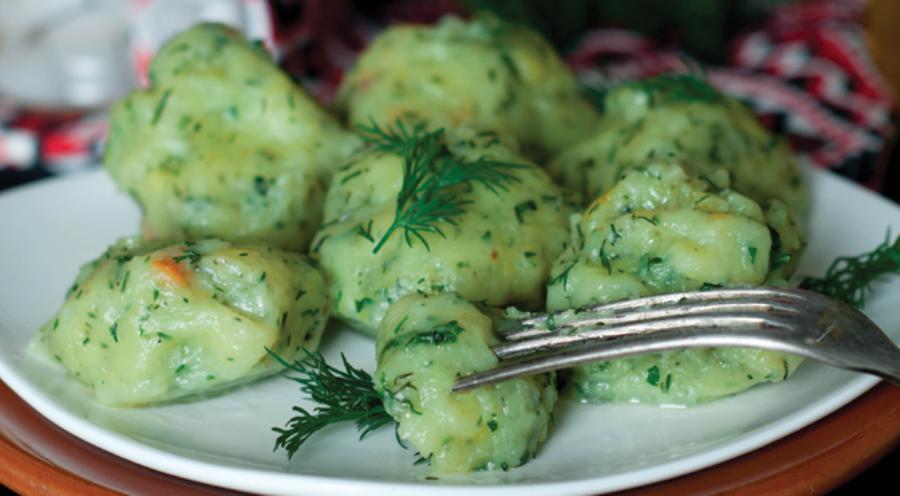 Ленивые вареники с зеленью: самый простой рецепт