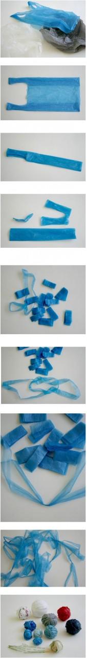 Вязание из полиэтиленовых пакетов и поделки из мешков для мусора свои УМЕЛЫЕ РУЧКИ Постила.