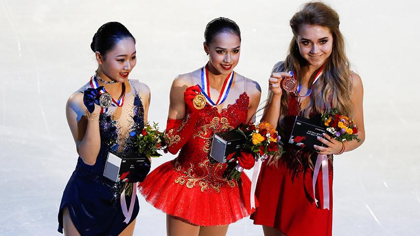 «Россия впереди планеты всей»: Букин об итогах этапа Гран-при по фигурному катанию в Китае