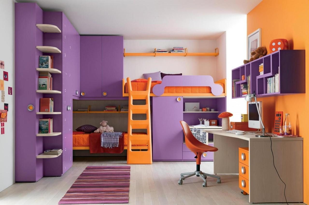 Дизайн мебели для девочки детской комнаты с фото