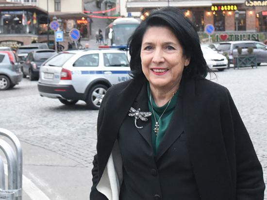 Избранный президент Грузии: пока не время дружить с Россией