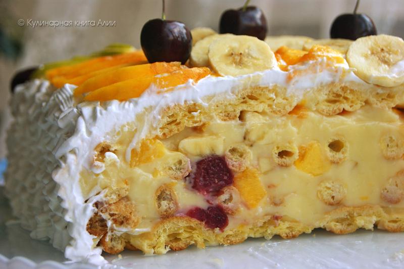рецепт торт тропиканка с фото