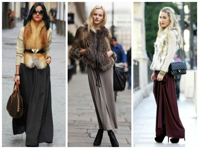 Что одеть с велюровой юбкой