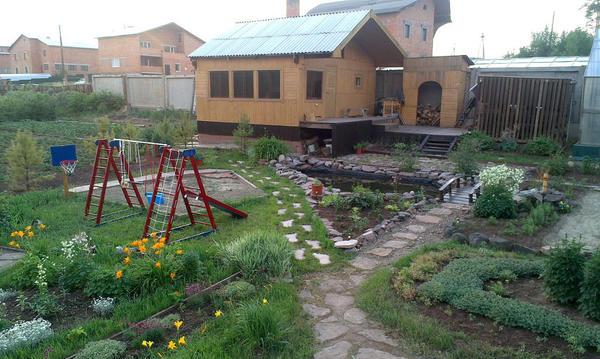 детская площадка для внука