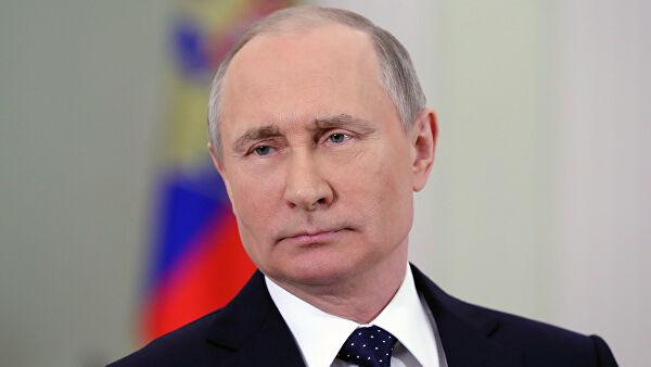 Путин напомнил об отсутствии у РФ планов вступить в гонку вооружений