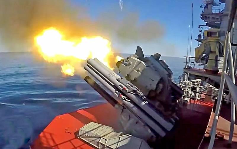 Корабли ВМФ России провели более 120 учений в течение полугода