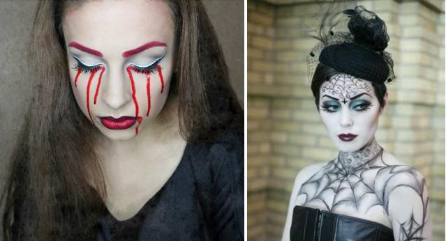 Макияж на хэллоуин для ведьмы