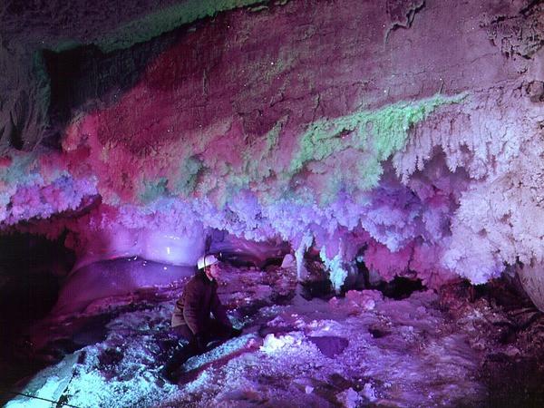 Кунгурская пещера Чудеса России, природа, сооружения