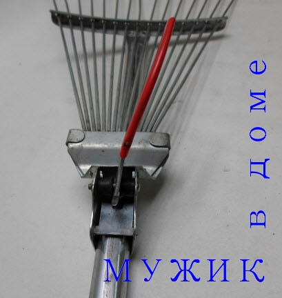 Ремонт веерных граблей