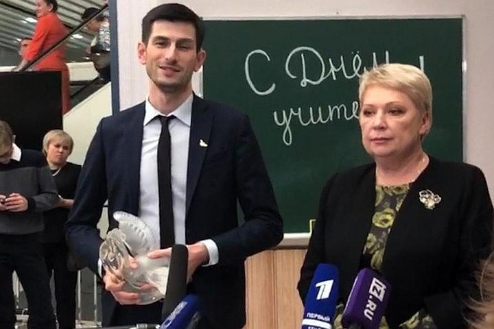 Лучшим учителем России 2018 стал преподаватель из Грозного
