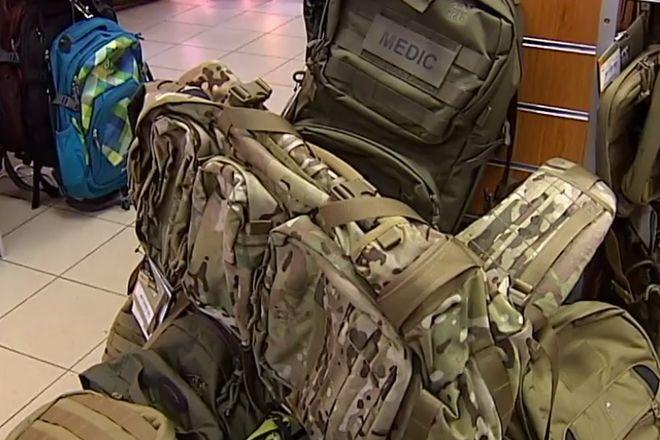 МВД Украины купило рюкзаки для бойцов АТО на 14,5 млн грн через жену Авакова - СМИ