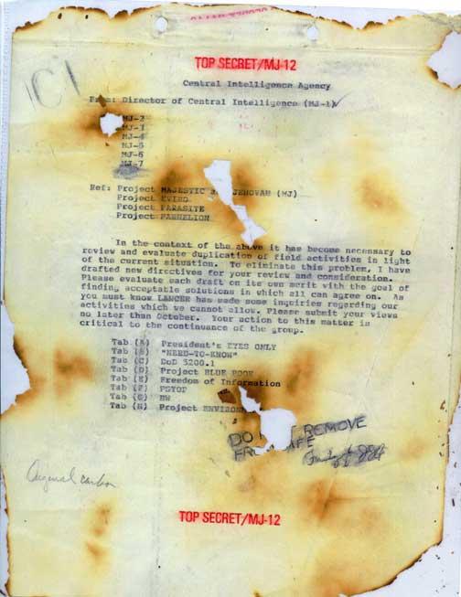 Кеннеди слишком много узнал об НЛО