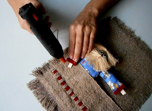 МАСТЕР-КЛАСС! Карман для расчёсок «Веня»