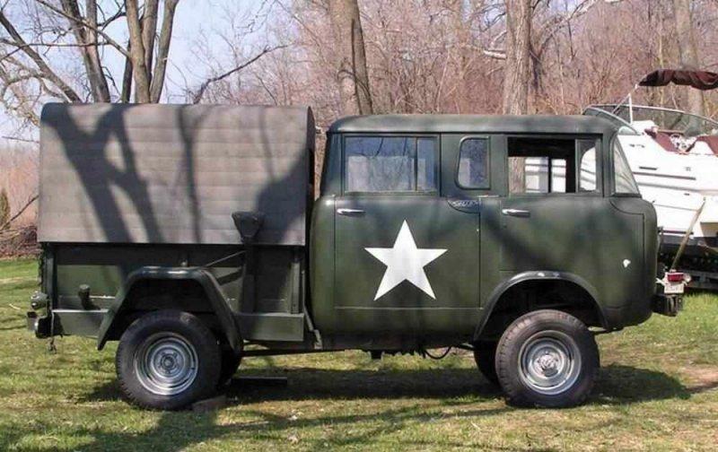 "Американская ""буханка"" Jeep FC"