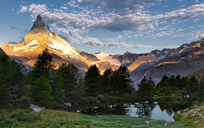 Потрясающие фотографии европейских гор и озер