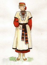 Что носили древние славянки?