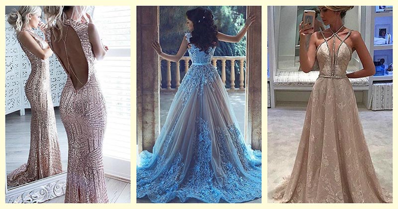 Магия длинных платьев — 22 модели для очаровательных дам