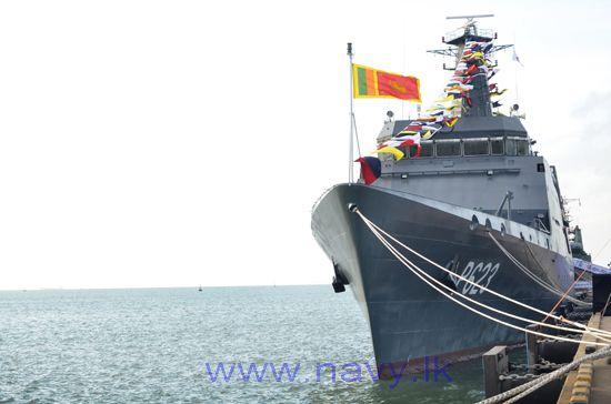 Шри-Ланка получила первый патрульный корабль индийской постройки