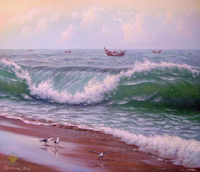 Влюбленный в море