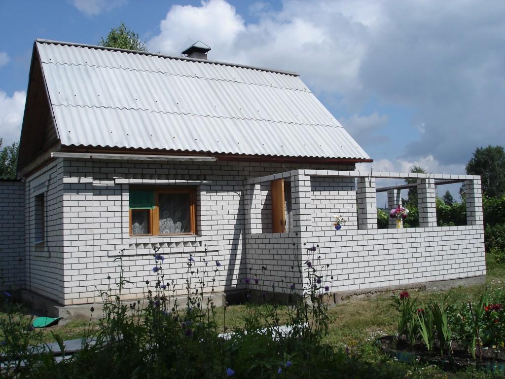 Веранда пристроенная к кирпичному дому своими руками