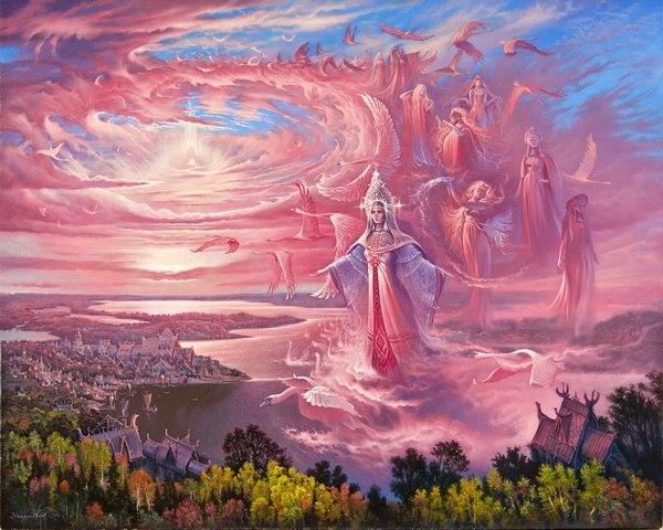 Волшебная былинная Русь худо…