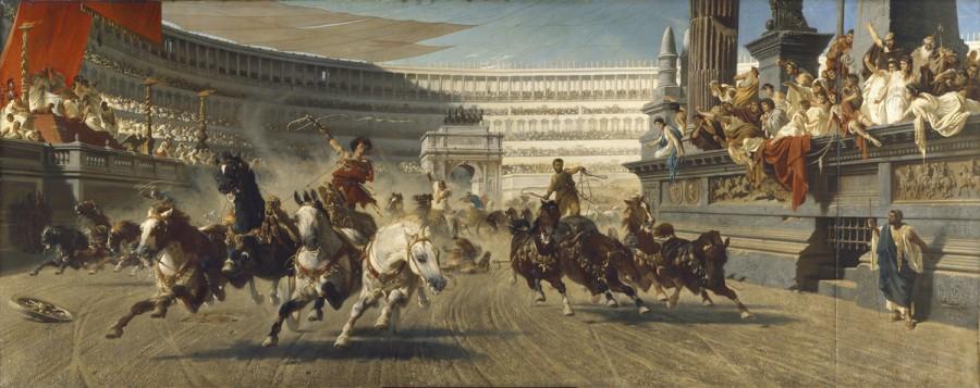 Актриса против спортивных хулиганов (Византия)