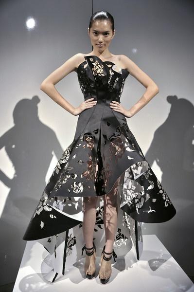 Платья из бумаги самому