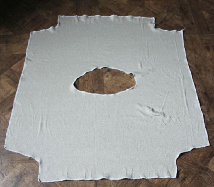 Невероятно простая кофта (выкройка)