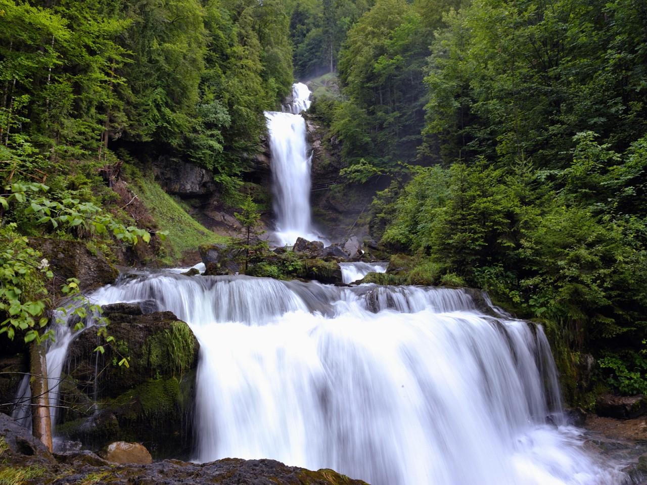 4. Водопад Гиссбах водопады, красота, природа