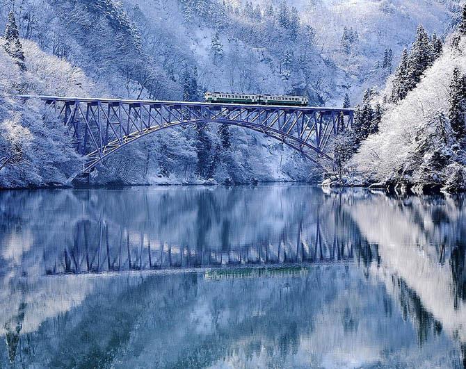 Места которые ещё красивее зимой golbis