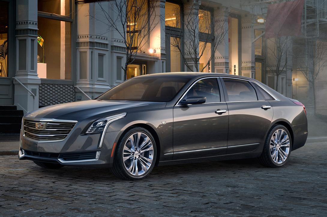 Cadillac CT6: новый седан прощупывает рынок немецкой тройки