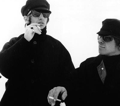 Ринго Старр (Ringo Starr) и его дублер Джо Дюнн (Joe Dunne), «The Beatles - Help!» (1964-1965).