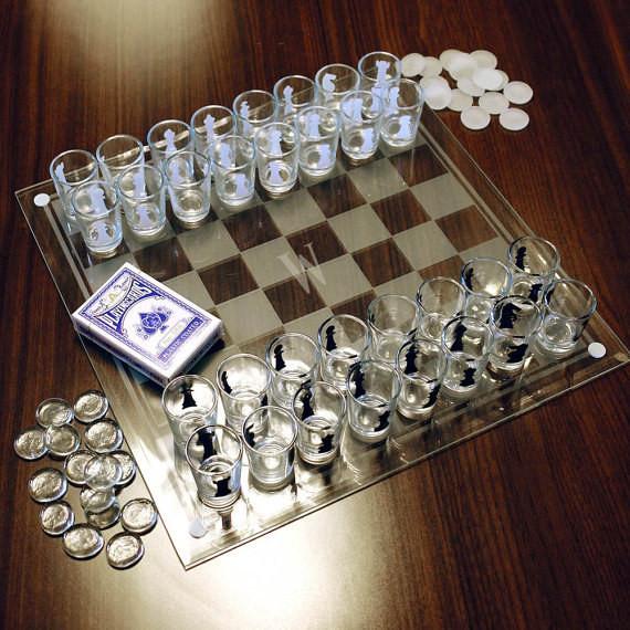 10. Или шахматы из стопочек новый год, подарки, приколы