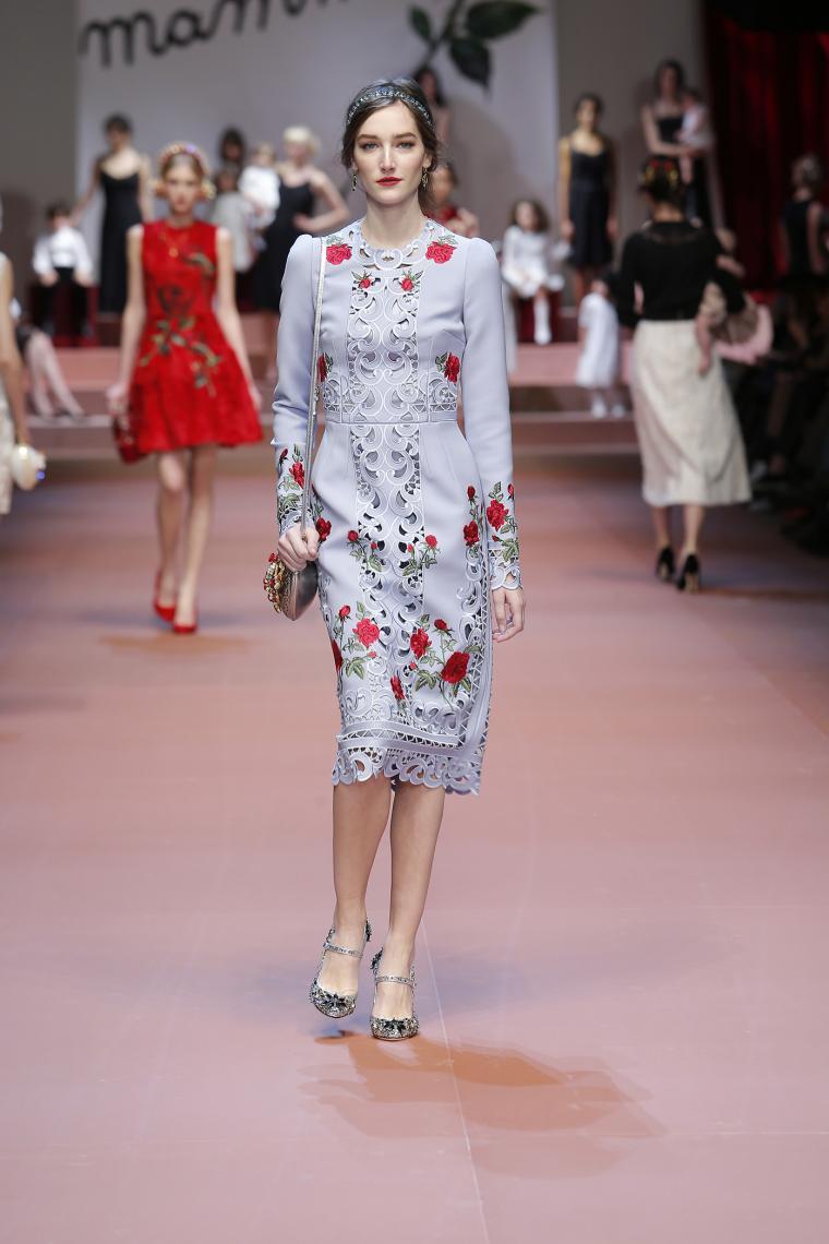 Dolce & Gabbana Осень-Зима 2015-2016. Нет слов, это просто надо видеть...