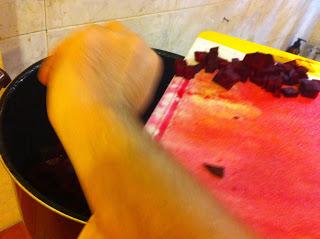 Овощной борщ