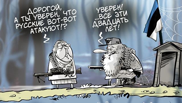 Вместо вражеских танков — дружеская ракета: почему НАТО атаковала Эстонию