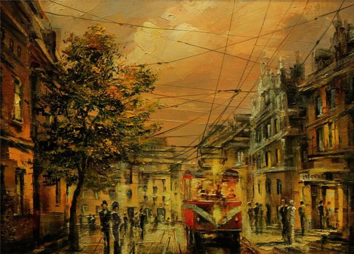 городской пейзаж Игорь Кирсанов - 05