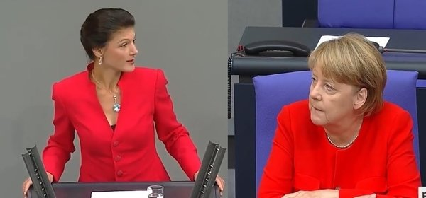 Скандал в парламенте Германи…