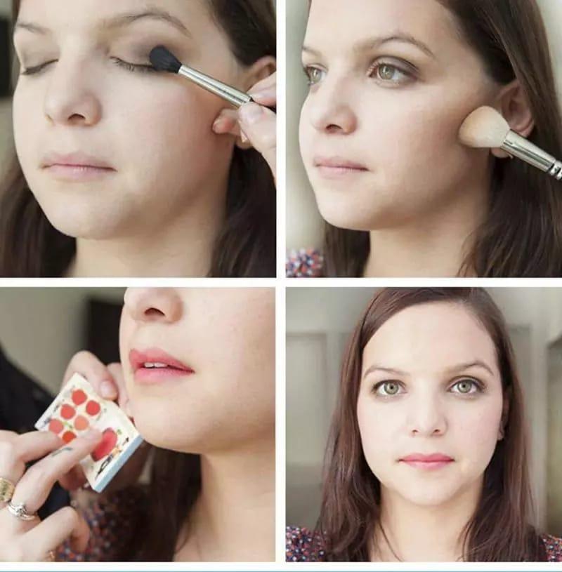 Как сделать макияж, используя всего 3 продукта