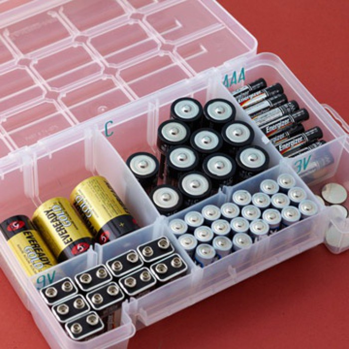 Коробка для хранения батареек своими руками 77
